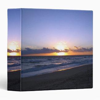 Beautiful Beach Sunrise Binder