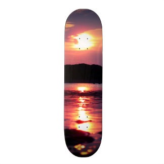 Beautiful Beach Sunrise Skateboard