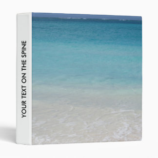 Beautiful Beach | Turks and Caicos Photo Vinyl Binder
