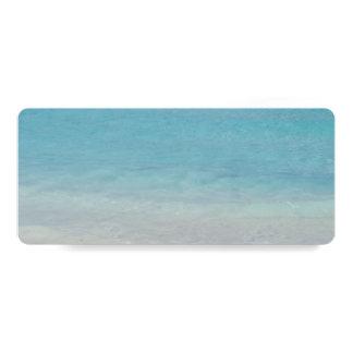 Beautiful Beach   Turks and Caicos Photo Card