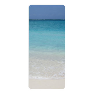 Beautiful Beach | Turks and Caicos Photo 4x9.25 Paper Invitation Card