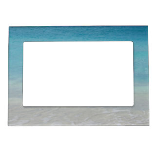 Beautiful Beach Turks and Caicos Photo Magnetic Photo Frames