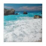 Beautiful Beach Water Surf Aloha Hawaiian Wedding Ceramic Tiles