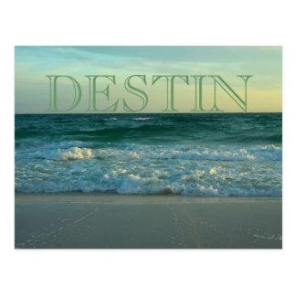 Beautiful beaches of Destin, Florida Postcards