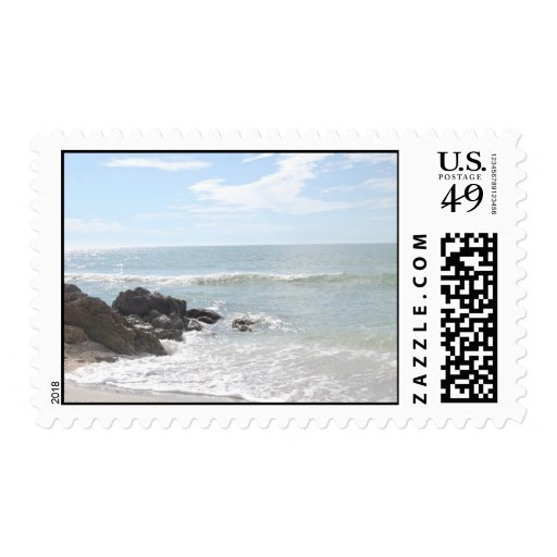 Beautiful Beaches Postage Stamp