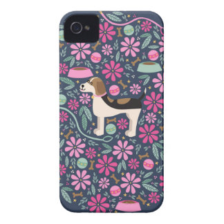 Beautiful Beagles iPhone 4 Case-Mate Case
