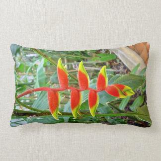 Beautiful Beak shaped Red flower Pillows