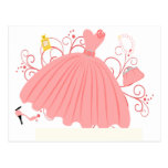 Beautiful, Beautiful Dress Postcard