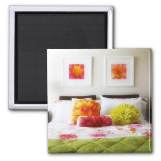Beautiful Bed and Bedroom Decor Magnet
