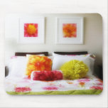 Beautiful Bed and Bedroom Decor Mousepad