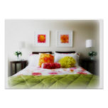Beautiful Bed and Bedroom Decor Posters