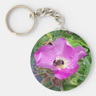 Beautiful Bee Key Chain