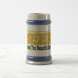 Beautiful Beer Body Beer Stein