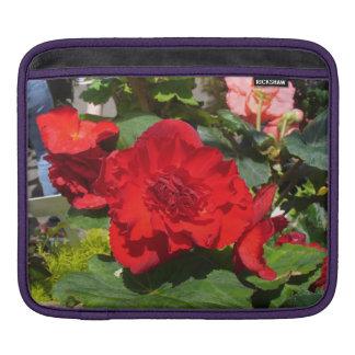 Beautiful Begonias iPad Case