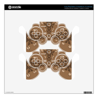 Beautiful Beige PS3 Controller Decal