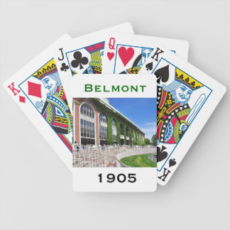 Beautiful Belmont Park Bicycle Playing Cards
