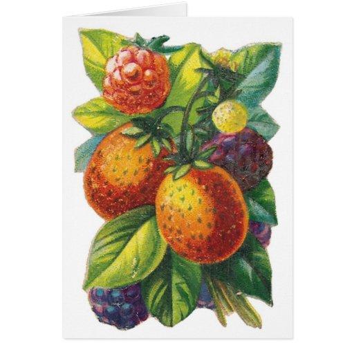 Beautiful Berries Customizable Cards