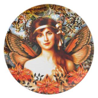 Beautiful Best Selling Fairy Art Plate