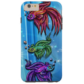Beautiful Bettas Tough iPhone 6 Plus Case
