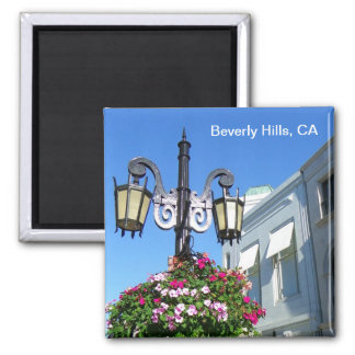 Beautiful Beverly Hills Magnet! 2 Inch Square Magnet