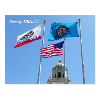 Beautiful Beverly Hills Postcards! Postcard
