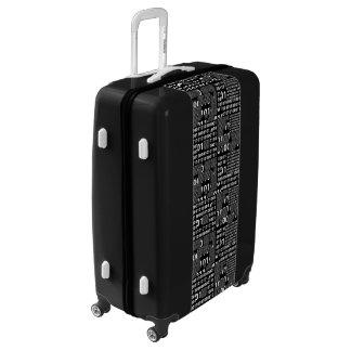 Beautiful Binary Luggage