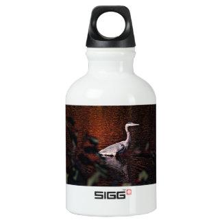 Beautiful bird on a water bottle SIGG traveler 0.3L water bottle