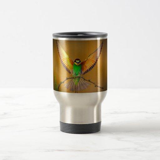 Beautiful Bird Travel Mug