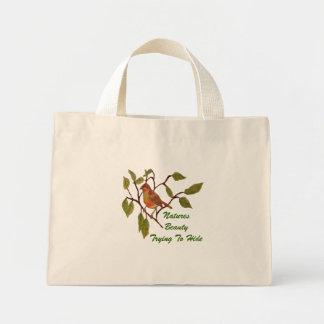 Beautiful Birdie Mini Tote Bag