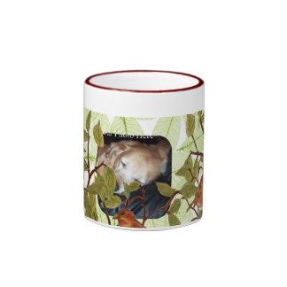 Beautiful Birdie Ringer Coffee Mug