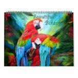 Beautiful Birds Art Calendar