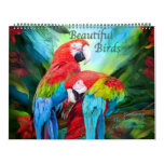 Beautiful Birds Art Calendar