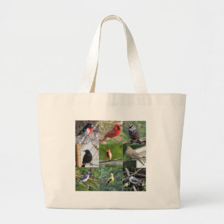 Beautiful Birds Jumbo Tote Bag