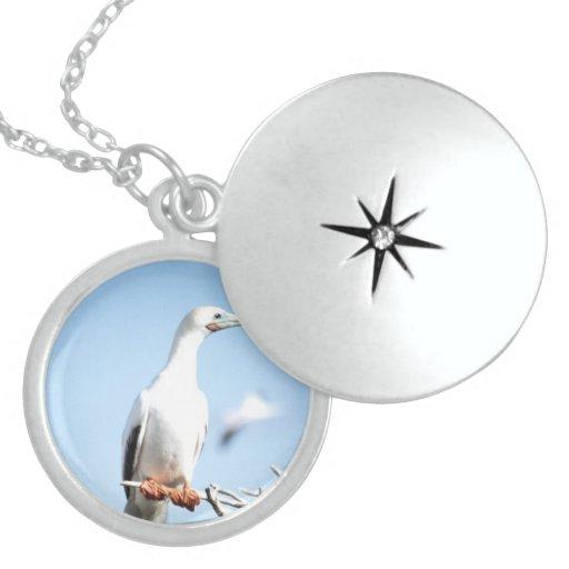 Beautiful Birds Necklace Locket Round Locket Necklace