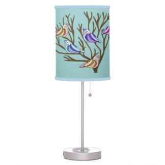 Beautiful Birds Table Lamp
