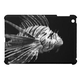 Beautiful Black and White Lionfish iPad Mini Case