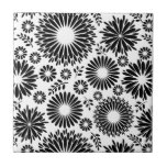 Beautiful black and white Tile