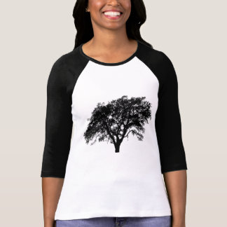 Beautiful Black and White Tree Design T-Shirt