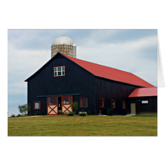 Beautiful Black Barn Greeting Card