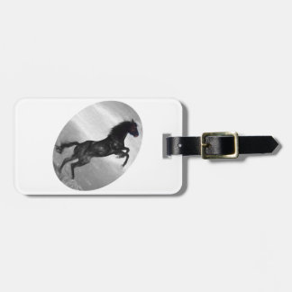 Beautiful  Black Horse Multiple Products selected Bag Tag