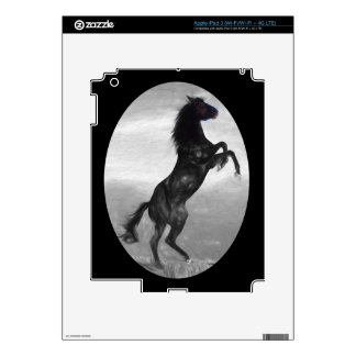 Beautiful  Black Horse Multiple Products selected Decals For iPad 3
