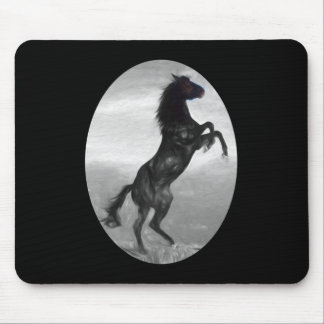 Beautiful  Black Horse Multiple Products selected Mouse Pad
