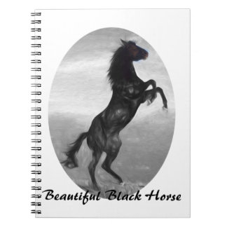 Beautiful  Black Horse Multiple Products selected Notebook