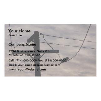 Beautiful Black Kookaburra Silhouette Sitting On P Business Cards