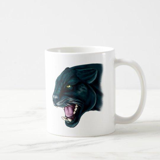 Beautiful Black Panther Coffee Mug