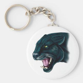 Beautiful Black Panther Keychain