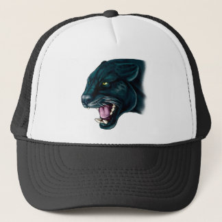 Beautiful Black Panther Trucker Hat
