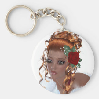 Beautiful Black Woman Key Chains