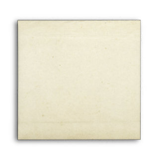 Beautiful Blank Old Fashioned Square Envelope