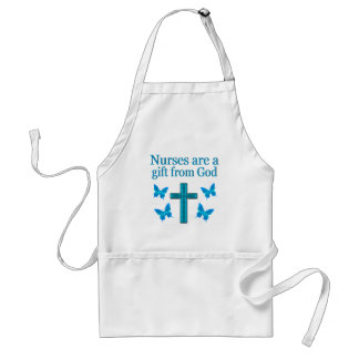 BEAUTIFUL BLESSED NURSE DESIGN ADULT APRON